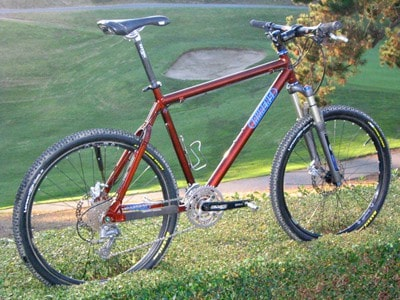 Ahrens Apex aluminum mountain bike
