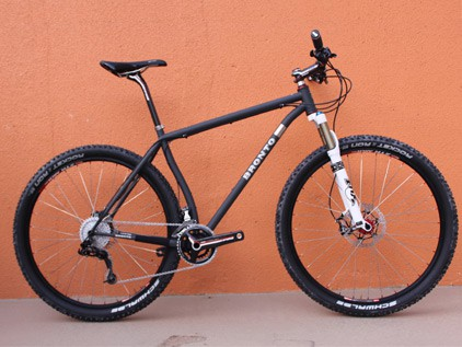 Bronto Bikes Reverend 29er mountain bike