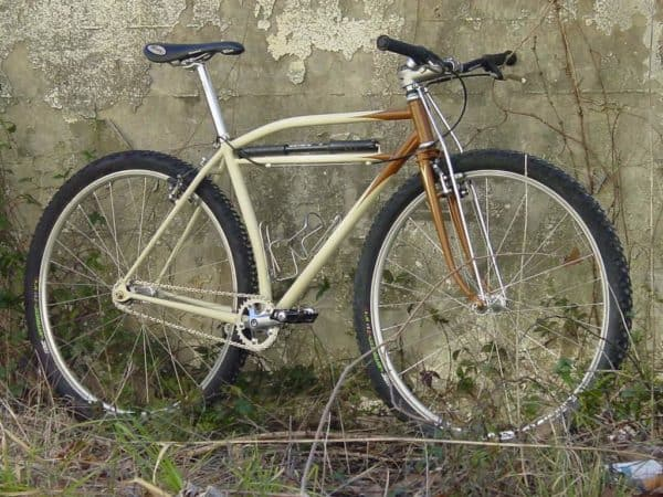 Don McClung 29er mountain bike