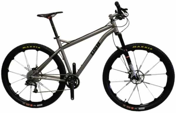 DSB Bikes titanium mountain bike