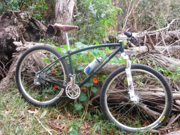 Matthews hardtail mountain bike