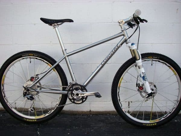 Oswald Cycle Works Silver Surfer mountain bike