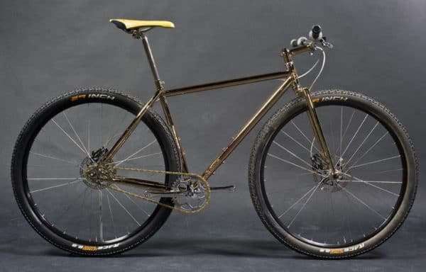 Peacock Groove custom mountain bike