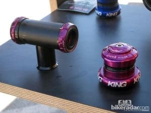 2013 Chris King headset and bottom bracket