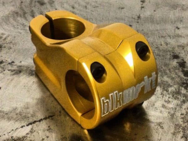 Gold standard Underboss stem with +12mm rise