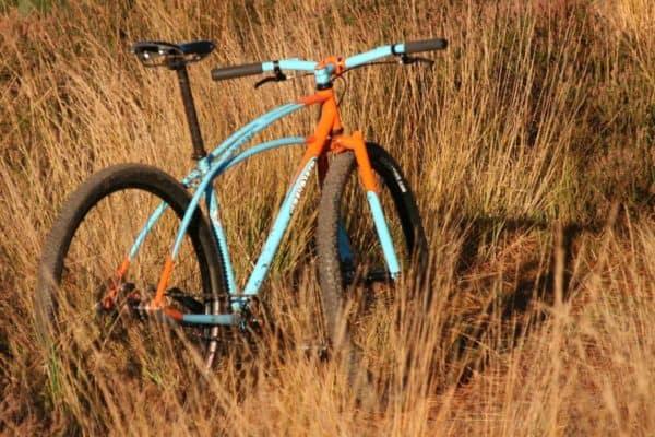 Retrotec rigid mountain bike Gulf Theme