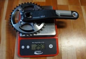 SRAM XX1 real weights
