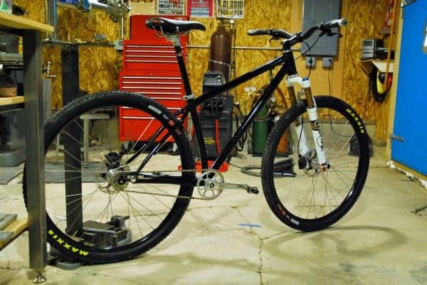 44 Bikes Single Speed 29er mountain bike