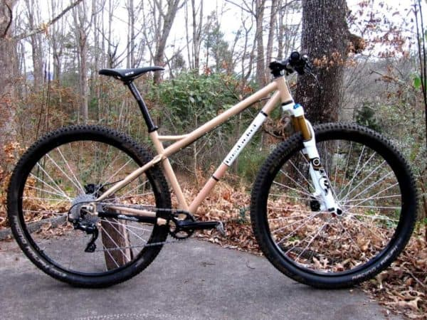 bystickel custom 29er mountain bike