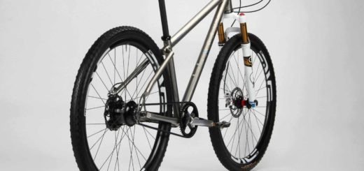 Titanium Firefly Bicycles mountain bike