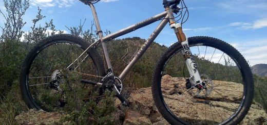 FORM Cycles Prevail Titanium 29er mountain bike