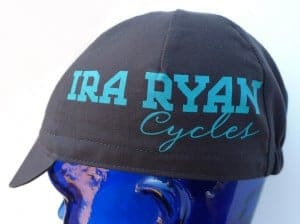 new hat from Ira Ryan Cycles