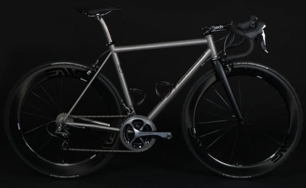 custom Mosaic Cycles titanium road bike