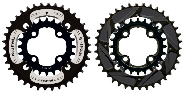wickwerks mountain bike double chainrings