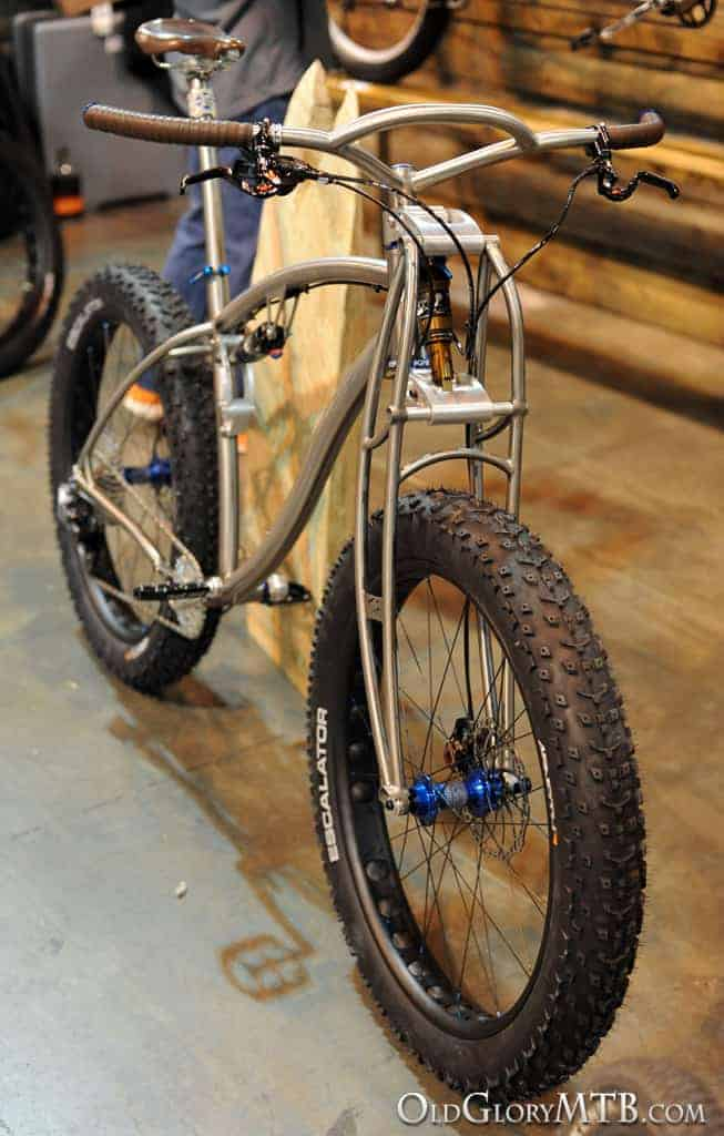 2013 Nahbs Black Sheep Bikes Titanium Fat Bike Heaven