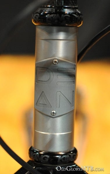 headtube badge detail