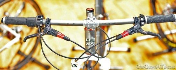 Dean titanium stem and titanium handlebar