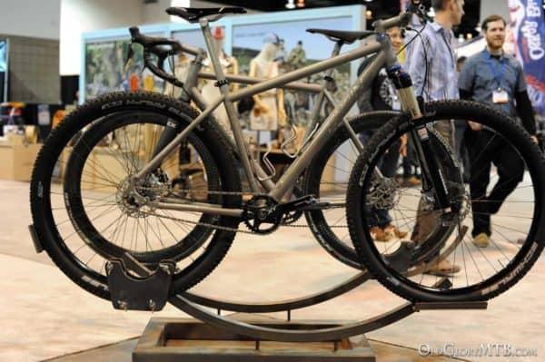 Engin Cycles custom titanium hardtail 29er
