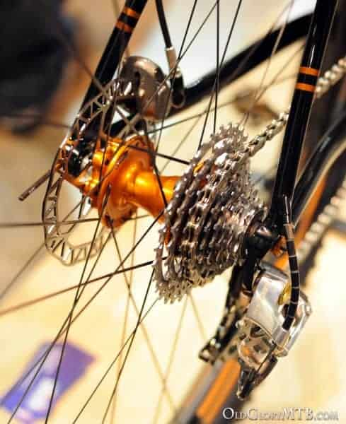 shifter cable exiting the drive side seatstay