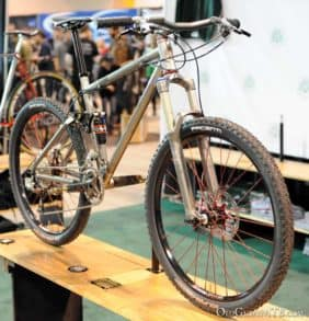 2013 NAHBS - Shamrock Cycles - 650B full suspension mountain bike