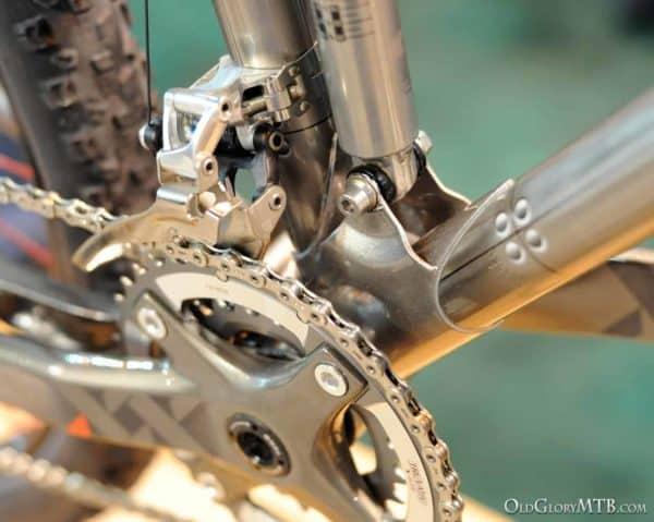 lower shock mount detail