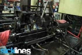 Wheelsmith spoke making machine