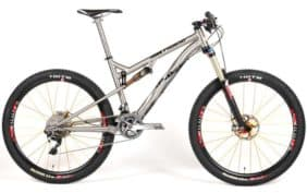 2013 Lynskey Pro650 FS-140 titanium full suspension mountain bike