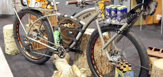 Moots trail maintenance bike