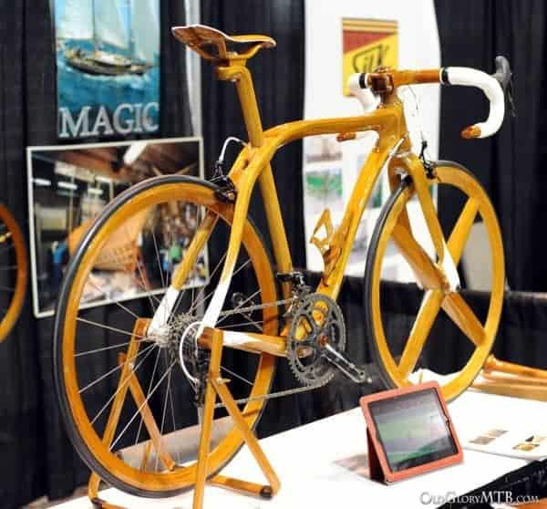 Sanomagic wood road bike