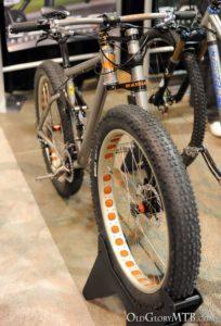 Ti Cycles full suspension titanium fat bike