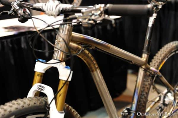 mountain bike they had in the booth