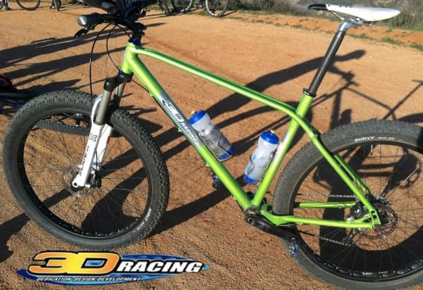 3D Racing 29+ mountain bike