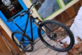 44 Bikes owner/builder Kris Henry's personal ride
