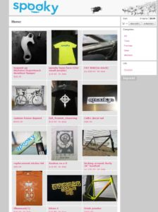 Spook Bikes Web Store