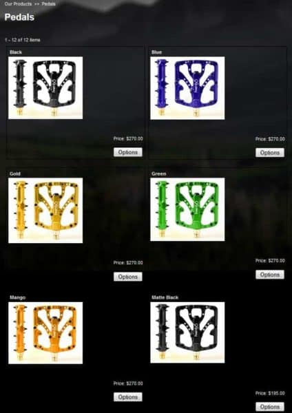 Twenty6 Products Predator pedals