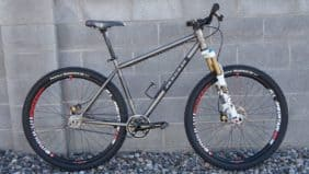 "REEB Cycles steel 29"" hardtail mountain bike"