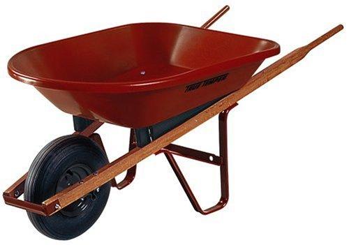 Ames 4cu ft wheelbarrow