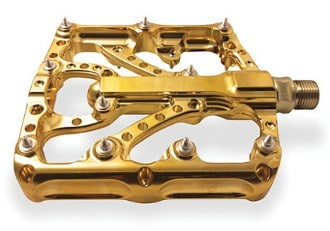 Twenty6 Products 5 year anniversary 24k gold pedals