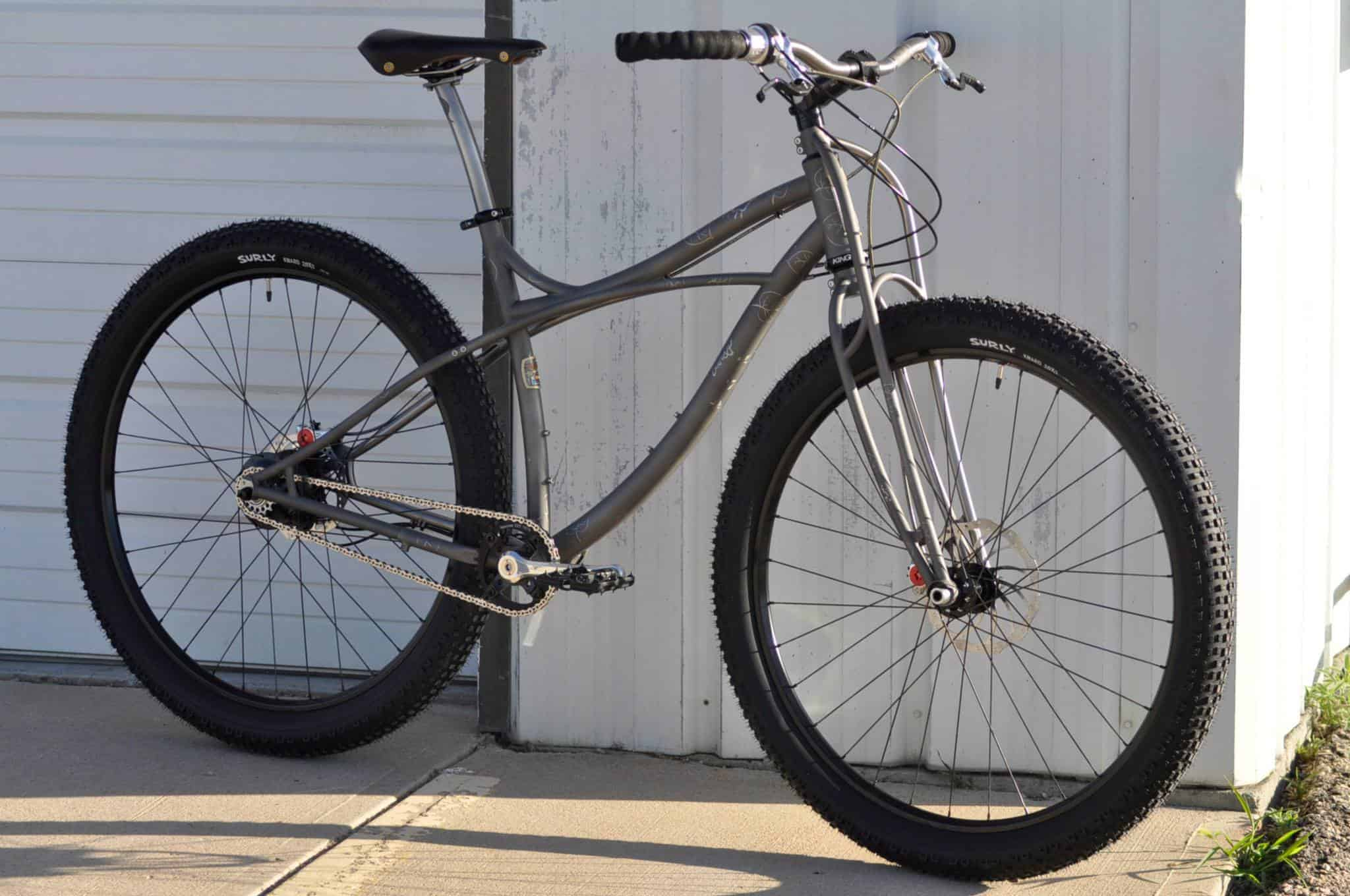 Bike Lust] Black Sheep Customs – Black Cat Hardtail – Alter