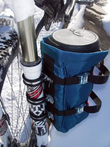 Fork mounted bag - Cleveland Mountaineering Everything bag