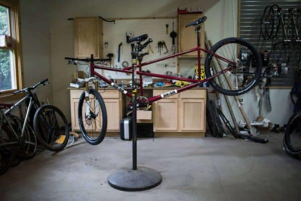 616 Bicycle Fabrication tandem mountain bike