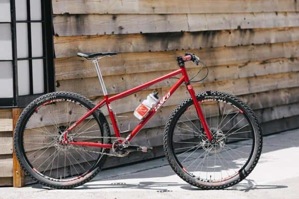 Rosko Cycle 650B single speed mountain bike