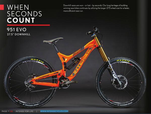 2014 Intense Cycles 951 EVO
