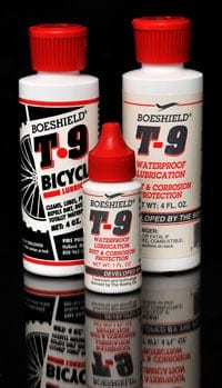 Boeshield T-9 chain lube