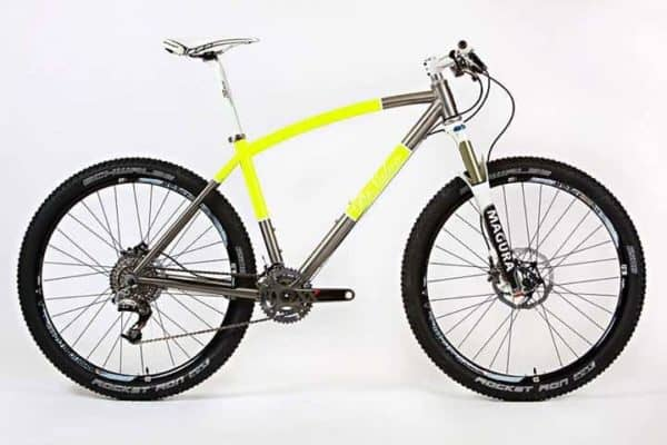 custom DeSalvo titanium 650B