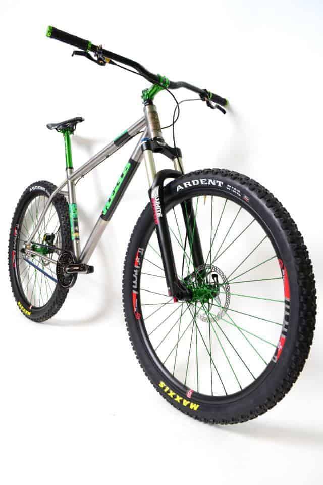 Bike Lust Reeb Titanium Dhr In Action Retrotec 29