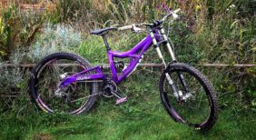 FTW Industries Odysseus 27.5 downhill bike