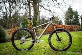 2014 Thomson Elite 275 titanium mountain bike