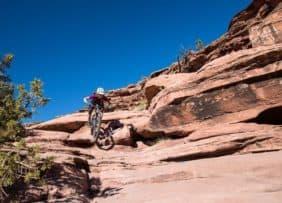 Captain Ahab mountain biking trail