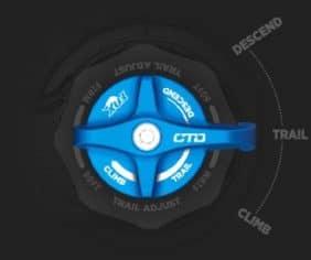 FOX CTD with Trail Adjust knob